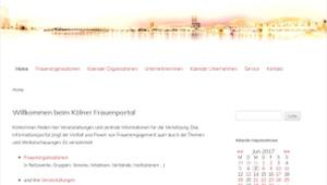 Kölner Frauenportal: Frauennetzwerke und Unternehmerinnen aus Köln und Umgebung