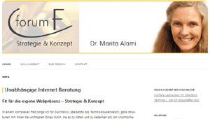Internet Beratung K�ln | Strategie & Konzept | Dr. Marita Alami
