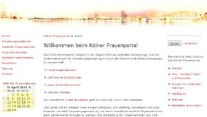 K�lner Frauenportal: Frauennetzwerke und Unternehmerinnen aus K�ln und Umgebung